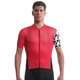 assos SS.EquipeJersey_Evo8 Bike Jersey Shortsleeve Men red
